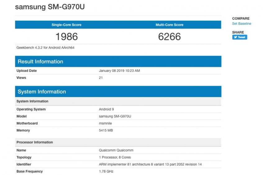 Samsung Galaxy S10 Lite появился в бенчмарке – фото 1
