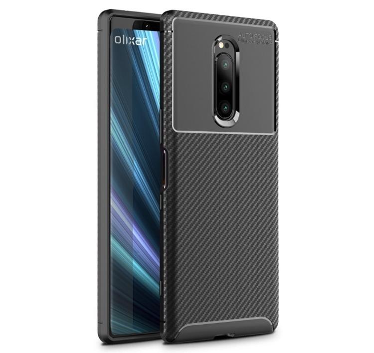 Производитель аксессуаров раскрыл дизайн смартфона Sony Xperia XZ4 с тройной камерой