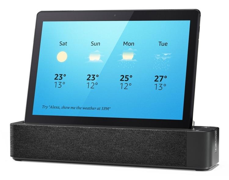 CES 2019: Планшеты Lenovo Smart Tab с голосовым ассистентом Amazon Alexa