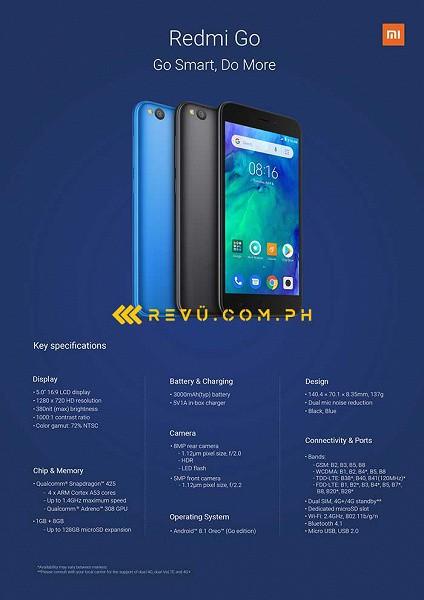 Redmi Go: характеристики и пресс-изображение – фото 1