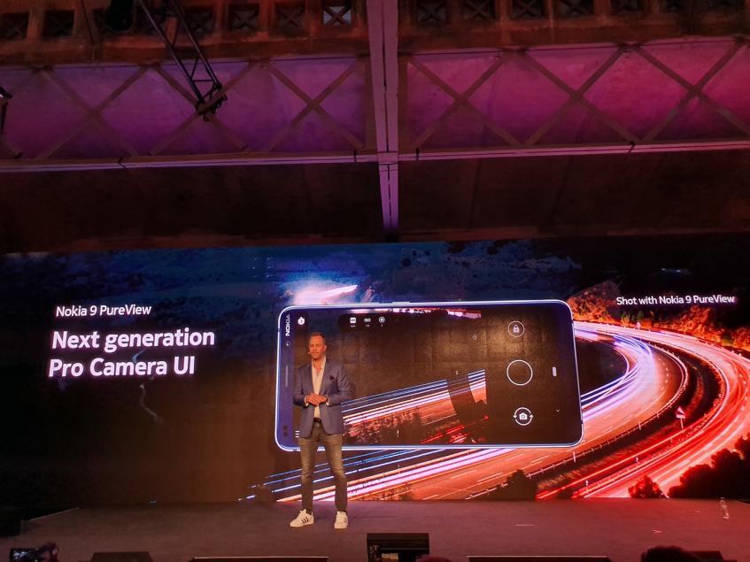 Смартфон Nokia 9 PureView с камерой-револьвером представлен официально
