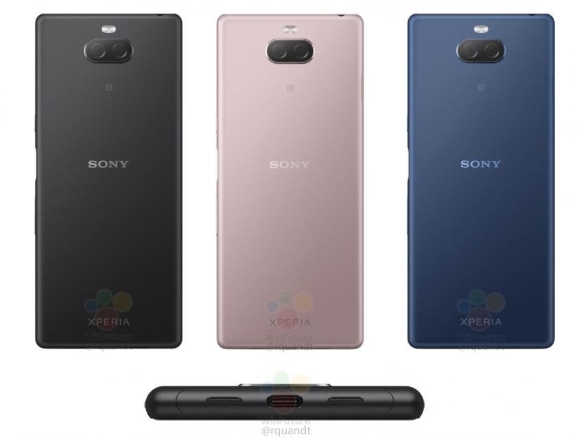 Ещё одна «сосиска»: смартфон Sony Xperia XA3 тоже получит экран 21:9