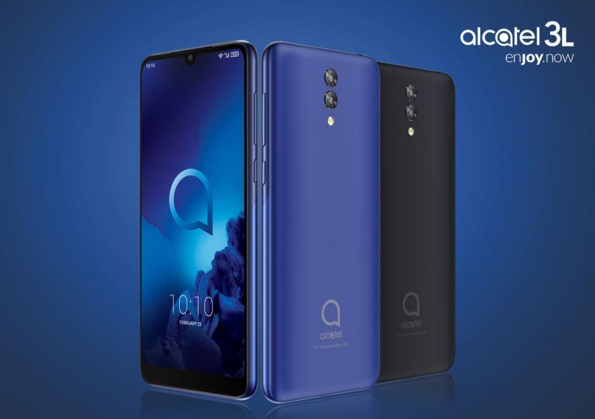 Представлены недорогие смартфоны Alcatel 3 и Alcatel 1: цены и сроки выпуска