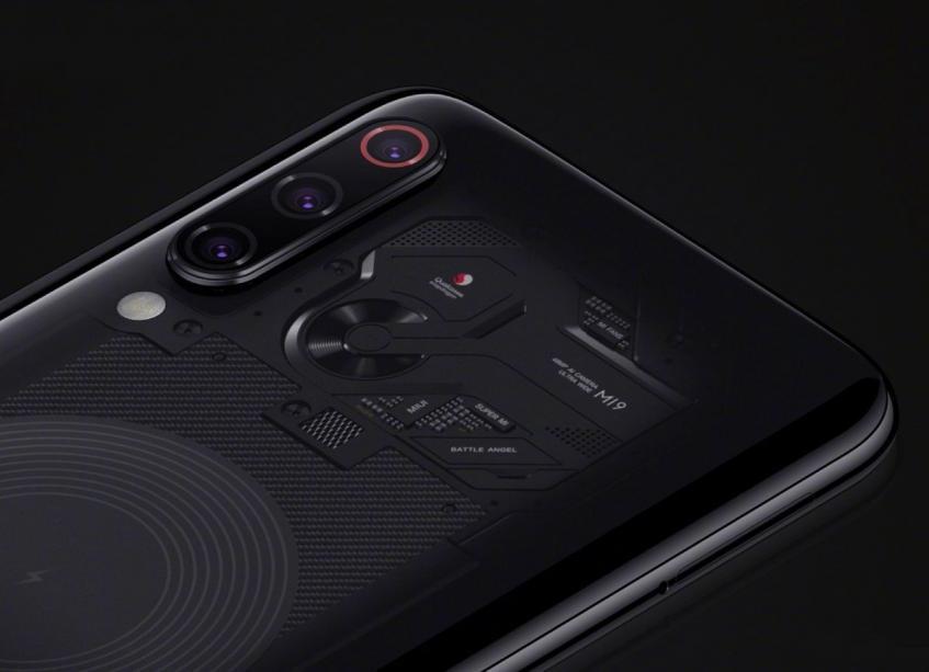 Прозрачный флагманский смартфон Xiaomi Mi 9 окрестили «боевым ангелом»