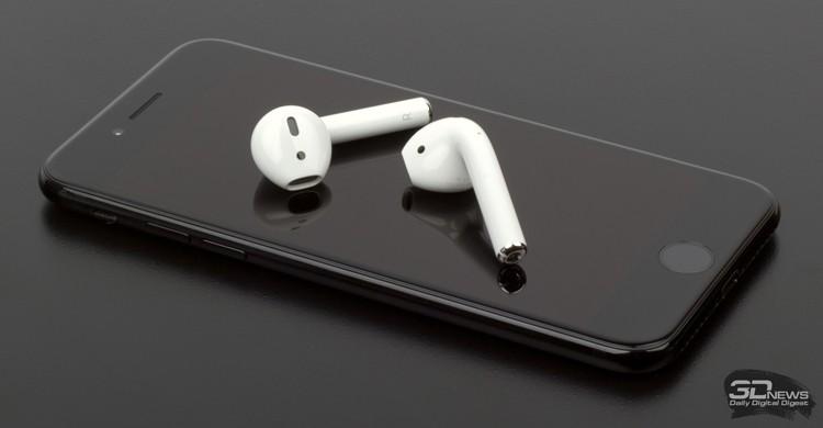 Наушники Apple AirPods 2 сохранят дизайн предшественников