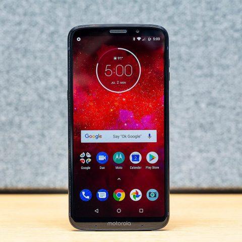 Смартфон Moto Z3 Play получил обновление до Android 9.0 Pie - 1