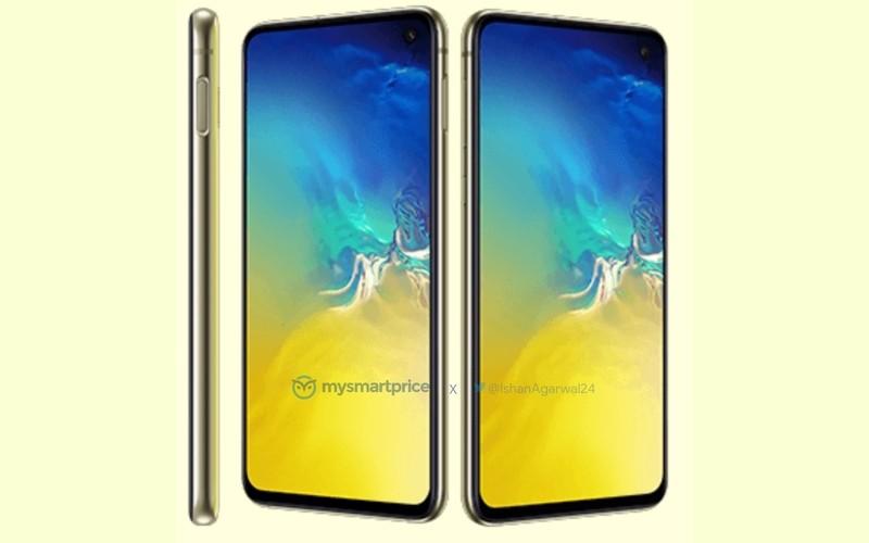 Ярко-жёлтый Samsung Galaxy S10e впервые на фото