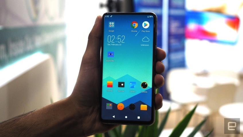 Смартфон Energizer претендует на звание самого толстого Android-мобильника всех времён