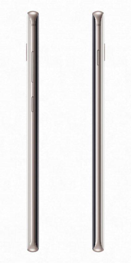 Белый Samsung Galaxy S10+ Ceramic на пресс-фото