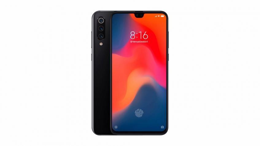 Новый рендер смартфона Xiaomi Mi 9 демонстрирует тройную камеру и небольшой вырез экрана