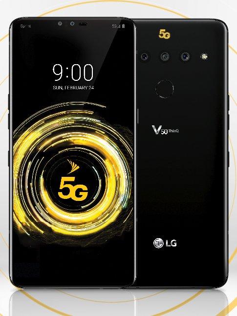 Авторитетный инсайдер показал LG V50 ThinQ – фото 2