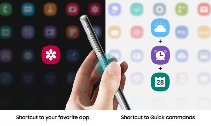 Владельцы Samsung Galaxy S10 и старых флагманов смогут настраивать кнопку Bixby