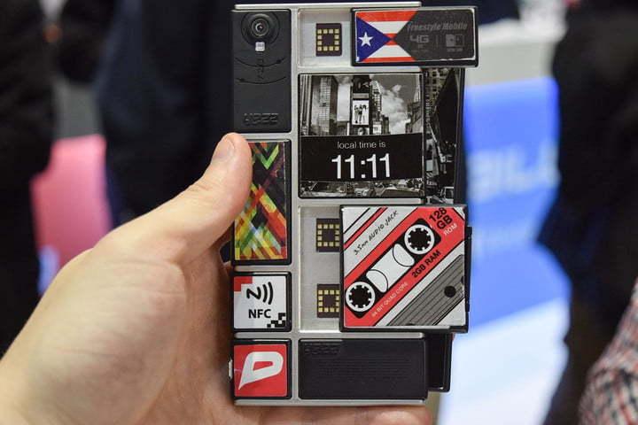 Google не отказывается от выпуска самосборных смартфонов