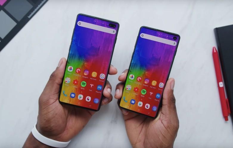 Реалистичные макеты Samsung Galaxy S10 и Galaxy S10+ демонстрируют на видео – фото 1