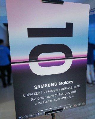 Смартфоны Samsung Galaxy S10 станут доступны для предзаказа 22 февраля
