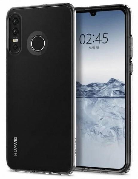 Фото Huawei P30 Lite в чехле подтверждают наличие тройной камеры в этой модели