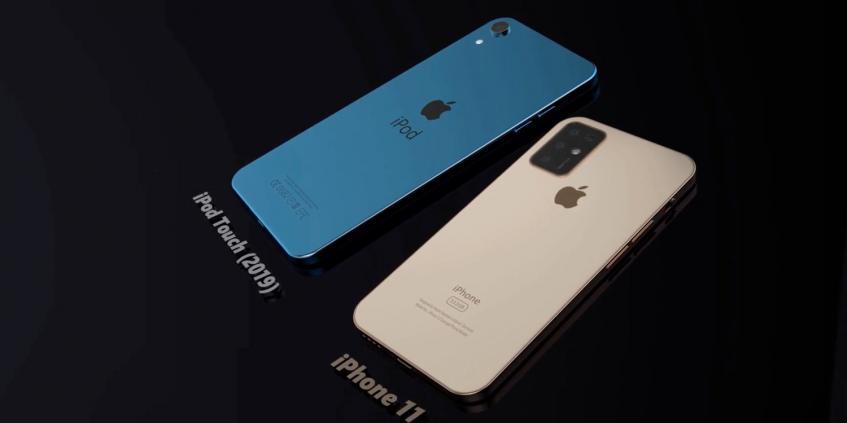 Видео дня: новый iPod touch диагональю 7 дюймов и iPhone 11 с огромной камерой