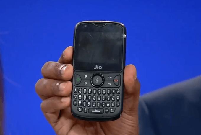 JioPhone 3 откажется от QWERTY-клавиатуры и станет полноценным смартфоном ценой около