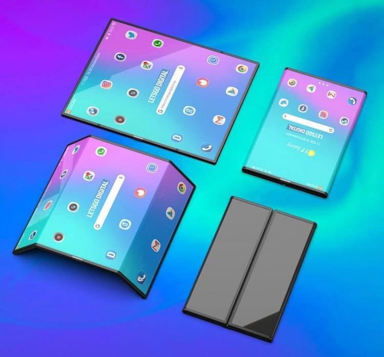 Рендеры смартфона Xiaomi двойного сложения: гибкое чудо