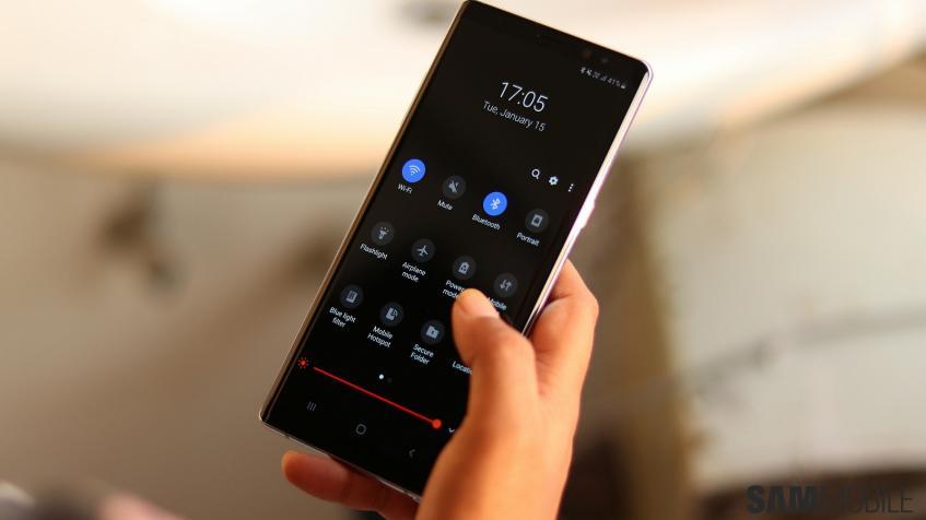 Стабильное обновление Android 9 Pie доступно для Samsung Galaxy Note 8 в России