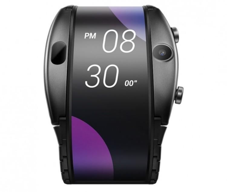 MWC 2019: уникальный гибрид смартфона и часов Nubia Alpha с гибким дисплеем