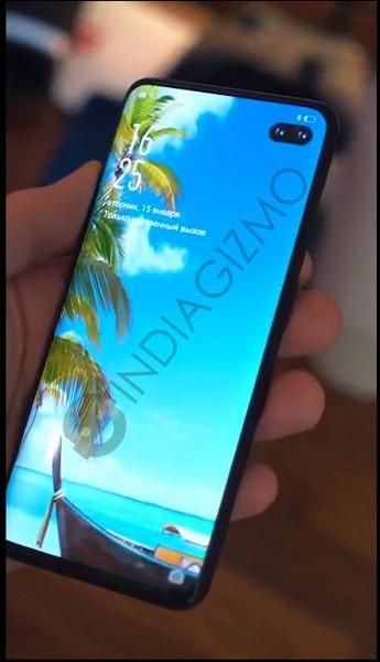Samsung Galaxy S10+ вновь засветился на живом фото - на этот раз с русскими надписями на экране