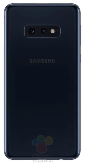Ответ Samsung на iPhone XR. Официальные изображения смартфона Galaxy S10e появились в сети