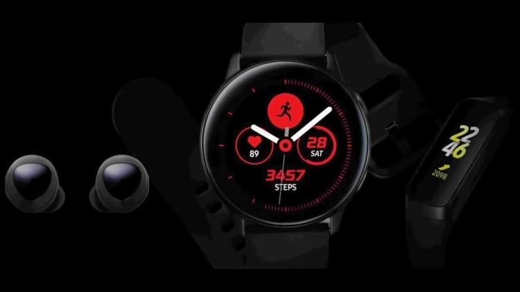 Samsung случайно показала наушники, фитнес-браслеты и умные часы до анонса