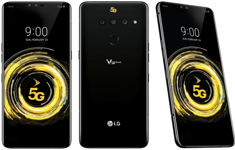 MWC 2019: LG представила свой первый 5G-смартфон V50 ThinQ 5G