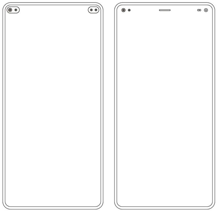 Xiaomi может выпустить смартфон с несколькими отверстиями в дисплее