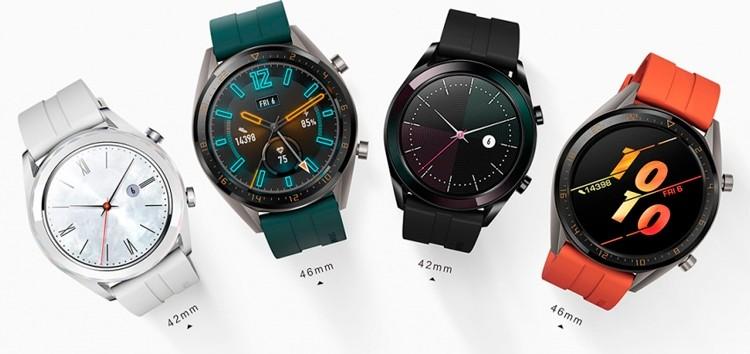 Huawei Watch GT: выпущены две новые версии смарт-часов
