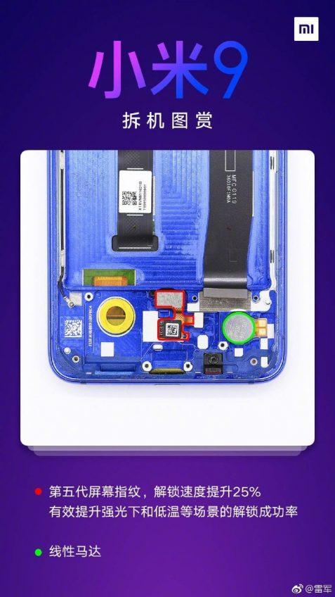 Разборка Xiaomi Mi 9 показала: корпус усилен, есть водозащита, а динамик в два раза громче, чем у Mi 8