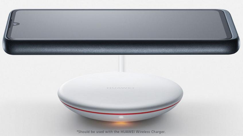 Huawei P30 все-таки поддерживает беспроводную зарядку… но для этого придется купить фирменный чехол