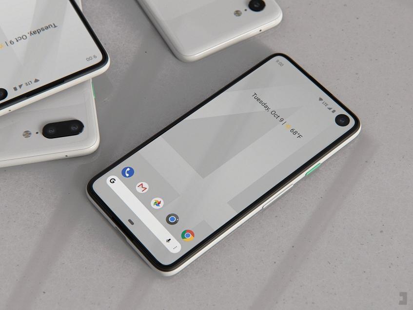 Врезанные в экран камеры в каждой модели: опубликованы новые рендеры Google Pixel 4 и Pixel 4XL