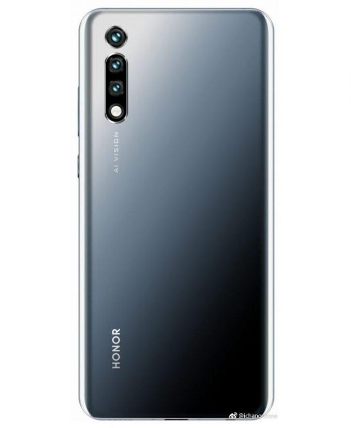 Тройная камера, экран FHD+ и NFC: к выходу готовится мощный смартфон Honor 20