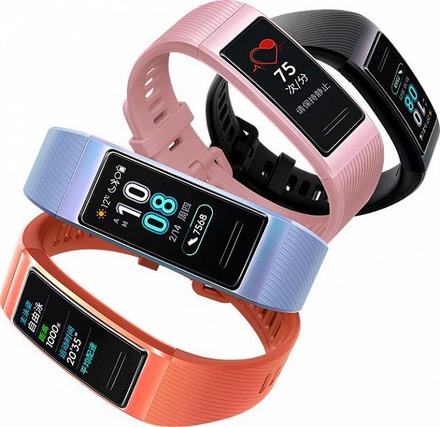 Умные браслеты Huawei Band 3 и Band 3 Pro поступили в продажу