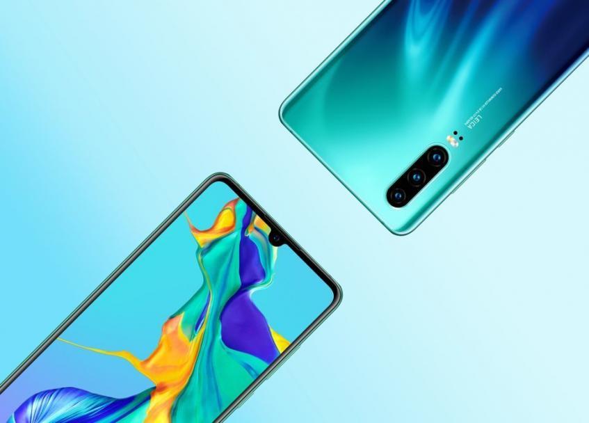 Huawei P30 и P30 Pro: габариты, масса и новые официальные рендеры