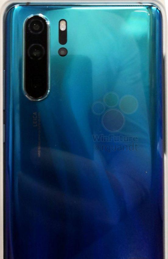 Новые живые фото и видео Huawei P30 Pro