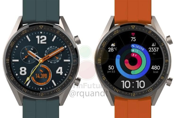 У смарт-часов Huawei Watch GT появятся версии Active и Elegant