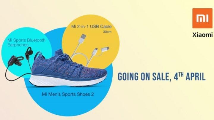 Наушники Xiaomi Sports Bluetooth и кабель с разъемами USB, microUSB и USB-C выйдут 4 апреля