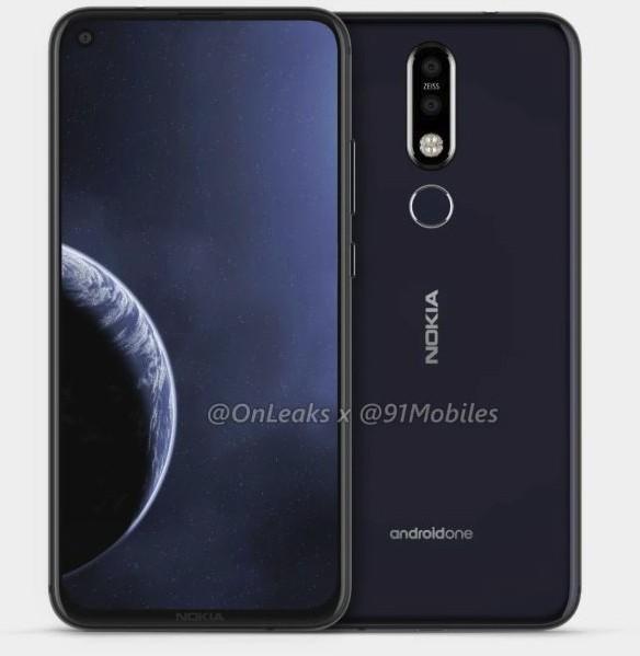 Выход смартфона Nokia 6.2 с «дырявым» экраном ожидается до конца весны