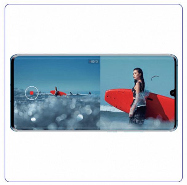 Видео одновременно с двух камер. Huawei P30 и P30 Pro получат новую функцию