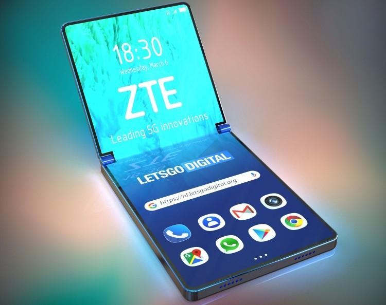 Фото дня: изображения гибкого смартфона ZTE на основе патента