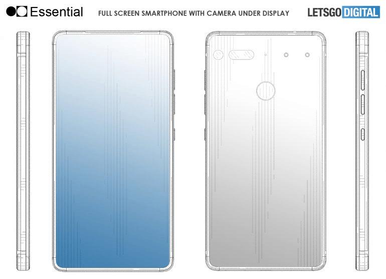 Изображения дня: смартфон Essential Phone PH-2 с интегрированной под экран камерой