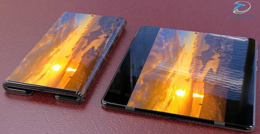 Складывающийся дважды смартфон Xiaomi Mi Fold с гибким экраном показался во всей красе на качественном видео