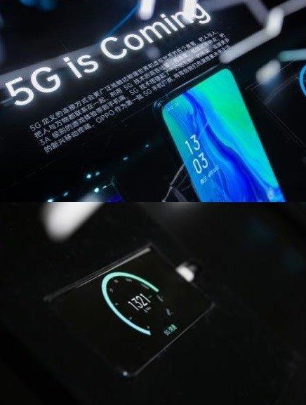 Сила 5G. Смартфон Oppo Reno 5G загрузил фильм объёмом 1 ГБ за 6 секунд