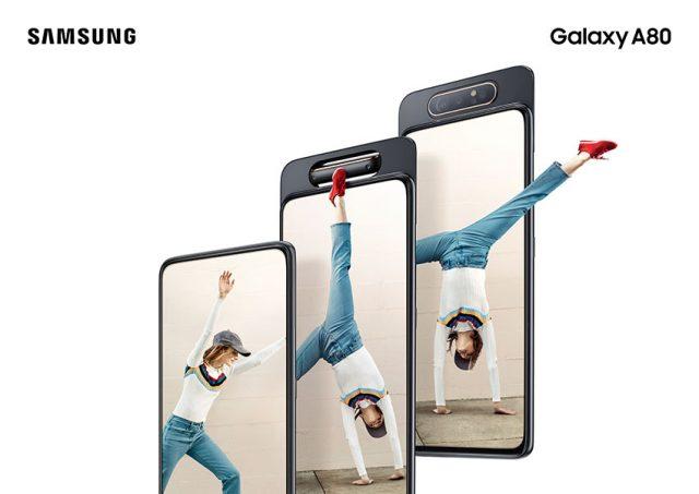 Представлен смартфон Samsung Galaxy A80 - 1