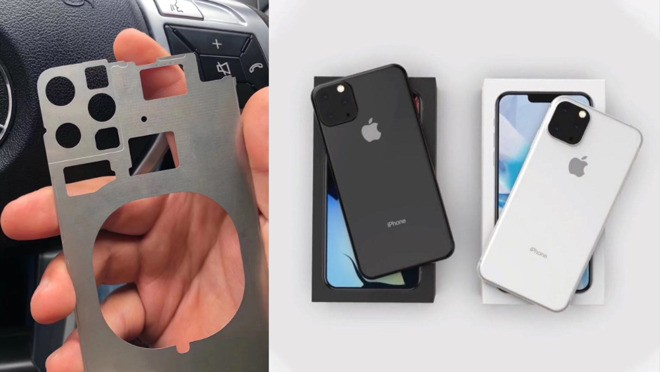 Утечка: фото шасси iPhone подтверждает тройную камеру