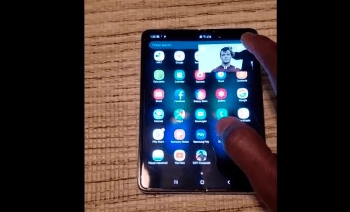 Складной флагман Samsung Galaxy Fold показали в работе на новом видео