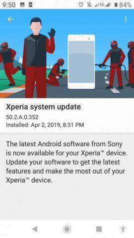 Для смартфонов Sony Xperia XA2 и XA2 Ultra начала распространяться исправленная версия прошивки на базе Android 9.0 - 2